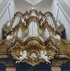 Bovenkerk organ, photo by Ton van der Wal