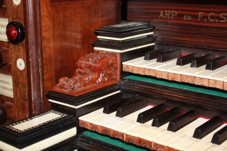 Zwolle organ, photo by A.A.W.J. Rietman