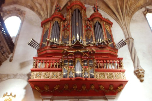 Santa Cruz de Coimbra organ, photo by João Valério