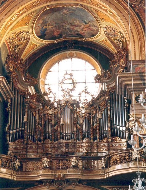 Bressanone organ, photo by Jörg Rainer Becker