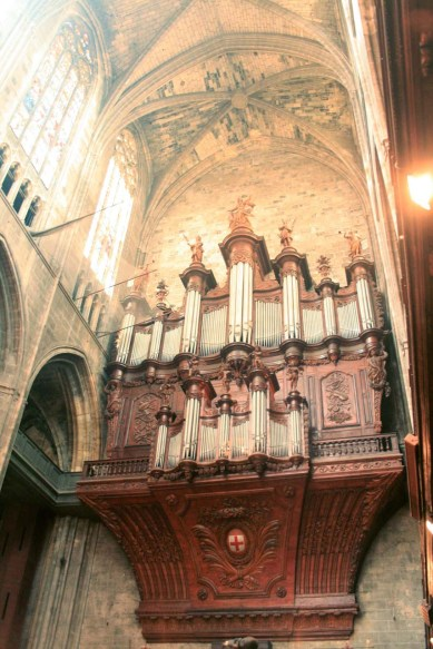 Narbonne organ, photo by Joan