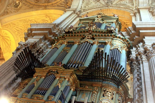 Málaga organ, photo by Dguendel