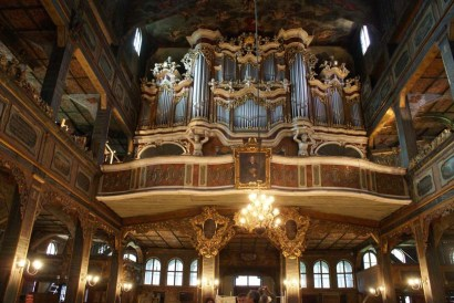 Świdnica organ, photo by Barbara Maliszewska