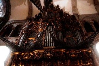 Santiago de Compostela organ, photo by José Luiz Bernardes Ribeiro