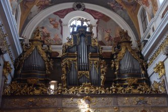 Ljubljana organ, photo by João Valério