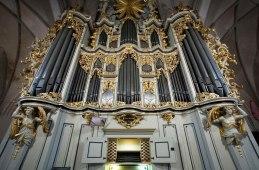 Marienkirche organ, photo by Jorge Royan