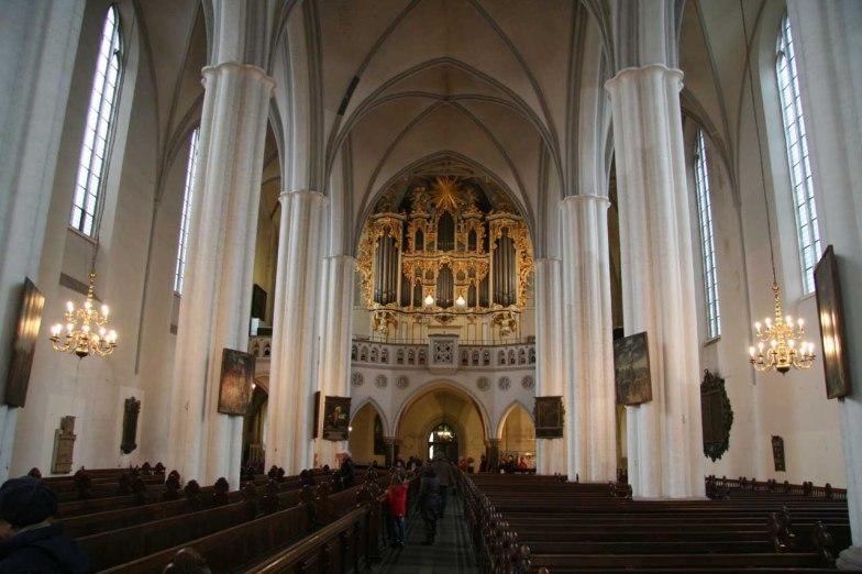 Marienkirche organ, photo by Reinhard Kraasch