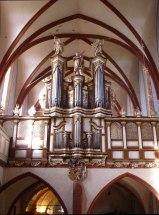 Klosters Altenbeg organ, photo by Franzfoto