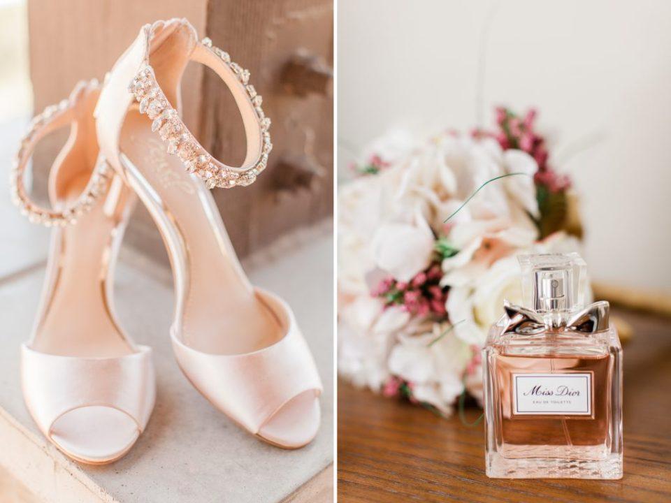 Wedding Shoes and Perfume