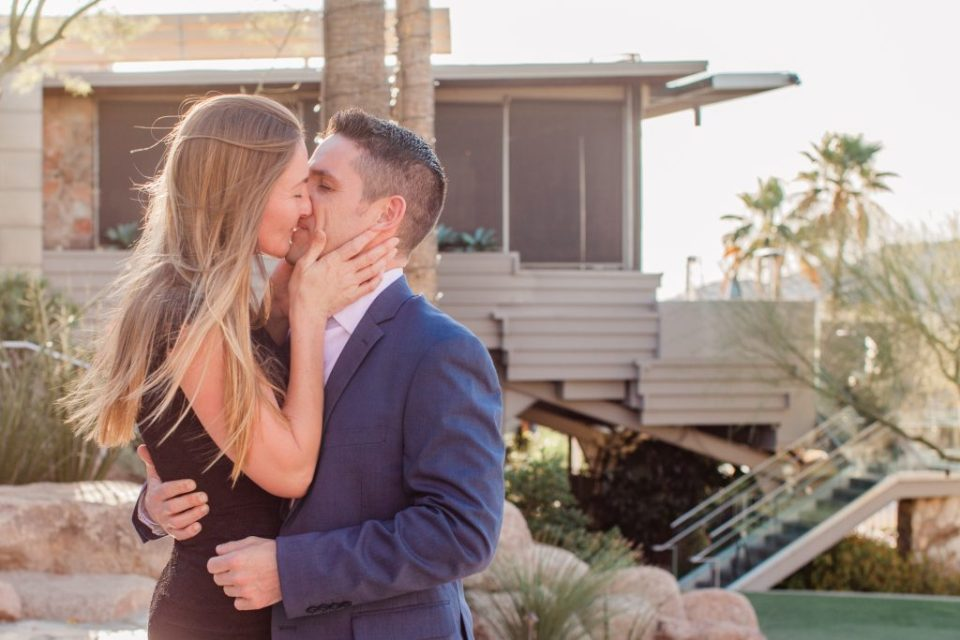 scottsdale resort engagement session