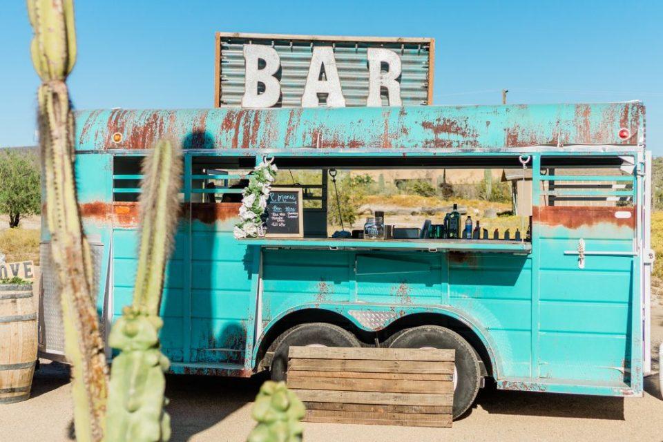 Mobil trailer bar