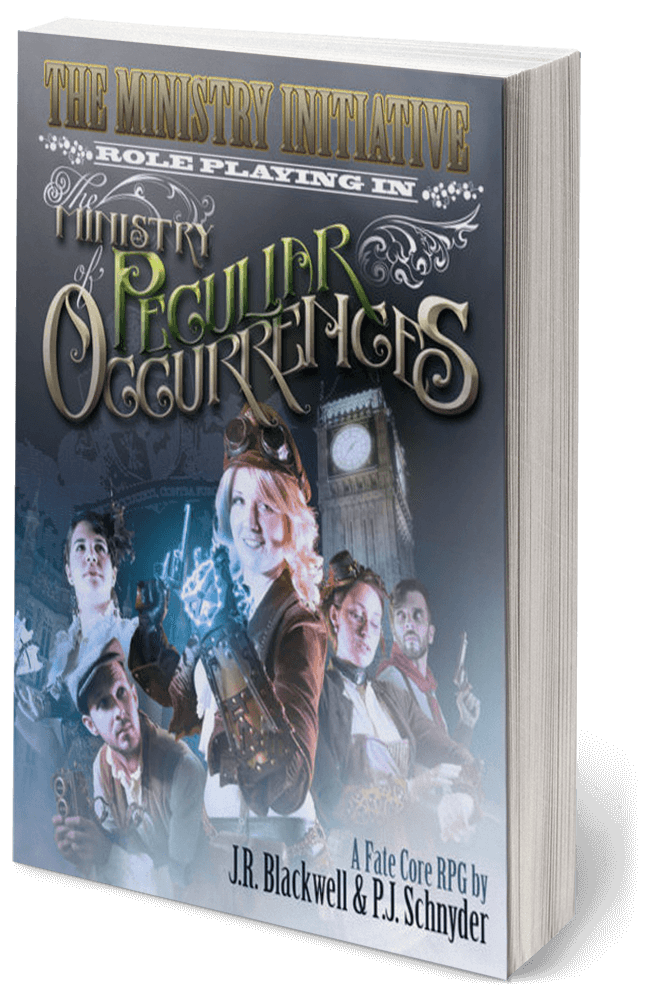 Ministry of Peculiar Occurences by PJ Schnyder