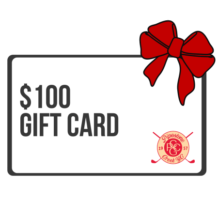 golf course gift card
