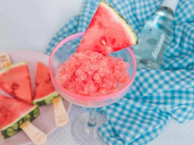 Wassermelonen Frizzante Sorbet