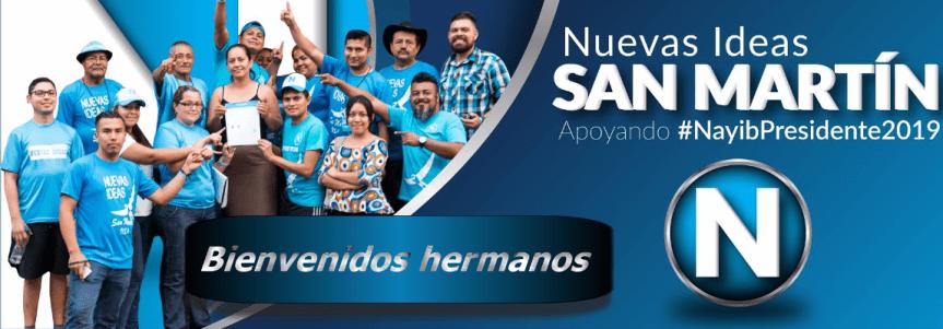 Cordial abrazo de bienvenida: Nuevas Ideas San Martin