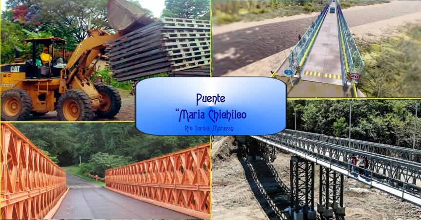 La primera obra de nuestro Gobierno completa «Puente María Chichilco»