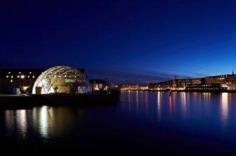 Dome Copenhagen harbor