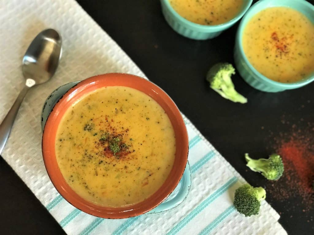 Broccoli Cheddar Soup Instant Pot 5
