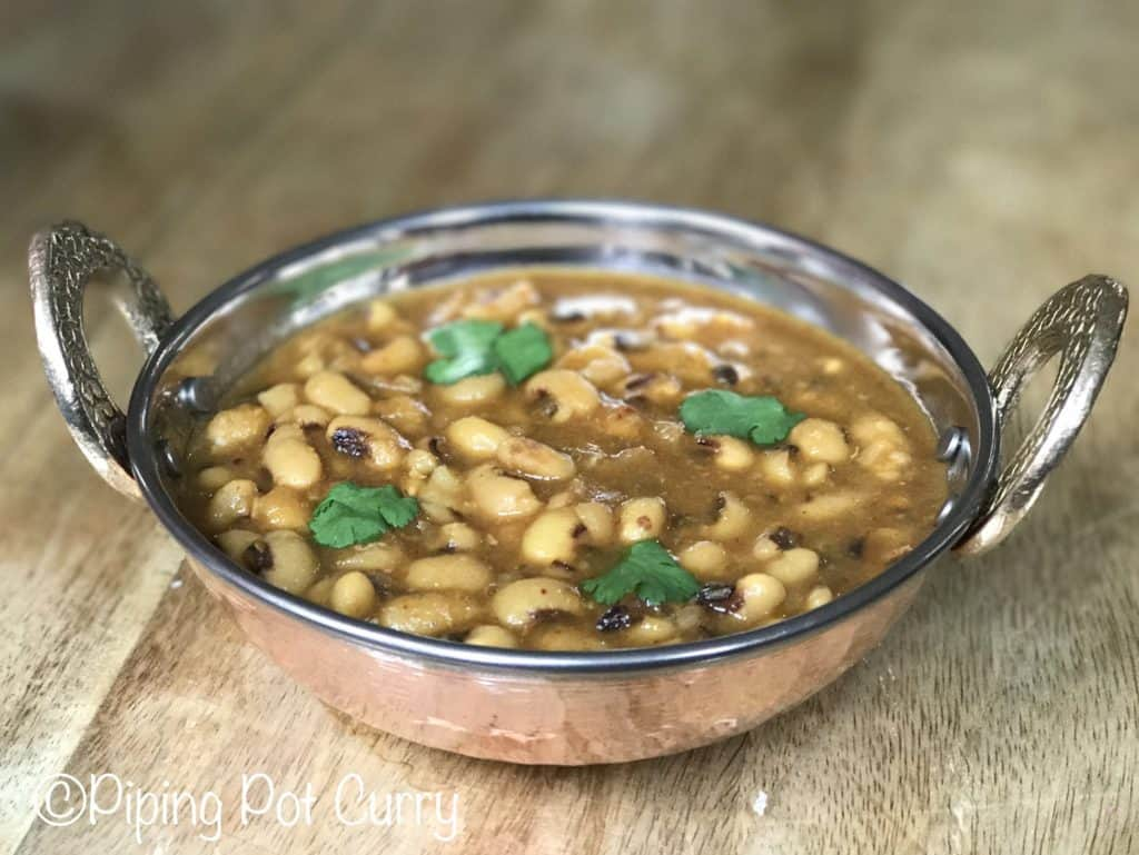 Instant Pot Black Eyed Peas Curry