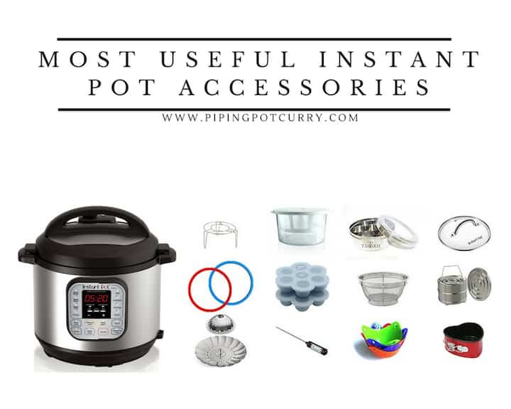 13 Useful Instant Pot Accessories - Piping Pot Curry