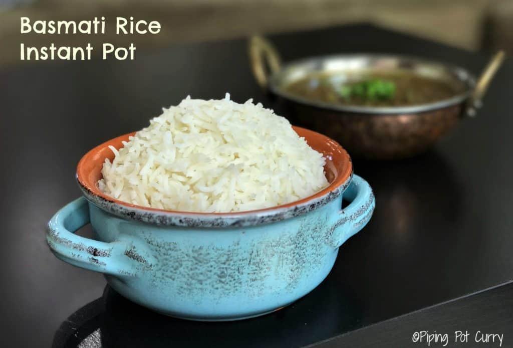 instant pot Basmati Rice Pressure Cooker