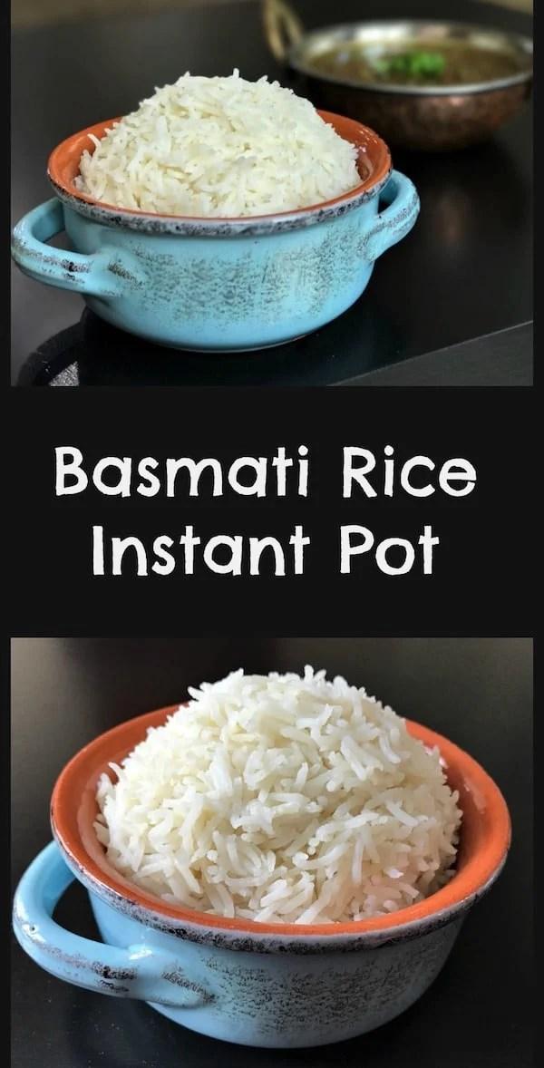 Basmati Rice Instant Pot Pressure Cooker