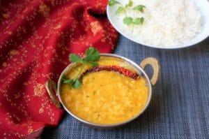 Dal Tadka / Dal Fry / Yellow Lentils Instant Pot Pressure Cooker 3