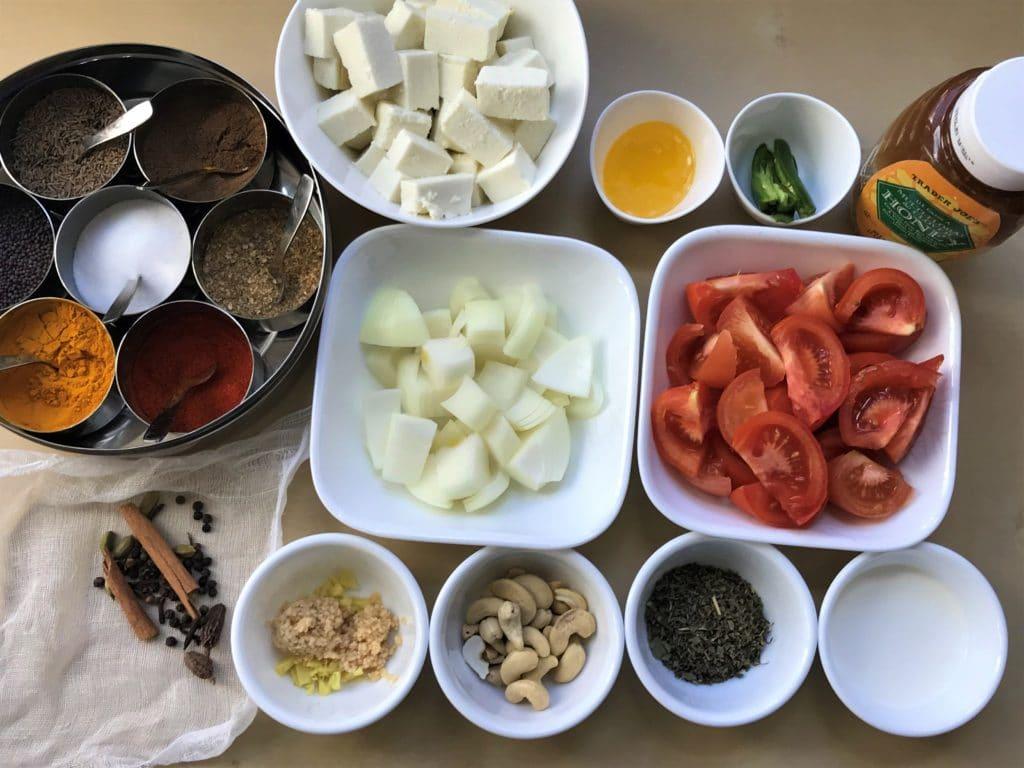 Paneer Butter Masala Instant Pot Pressure Cooker