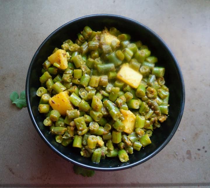 Beans Potato Instant Pot