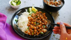 Instant Pot Chana Masala. Chole. Chickpeas