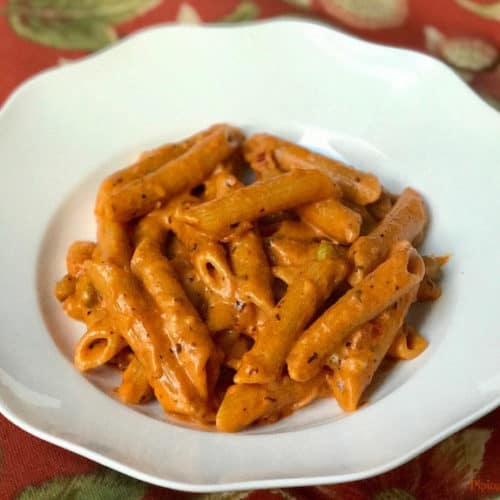 Penne Pasta in Tomato Cream Sauce Instant Pot