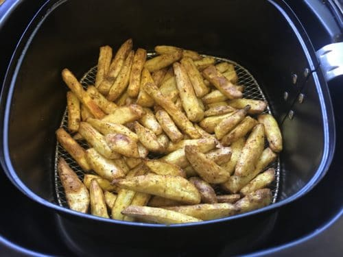 Taro Fries Crispy Arbi Air Fryer 2