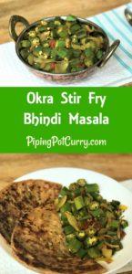 Bhindi Masala Instant Pot Pressure Cooker