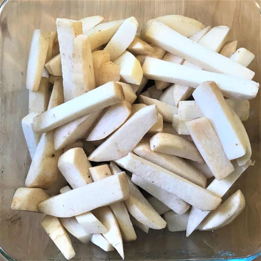 Taro Fries Crispy Arbi Air Fryer 1