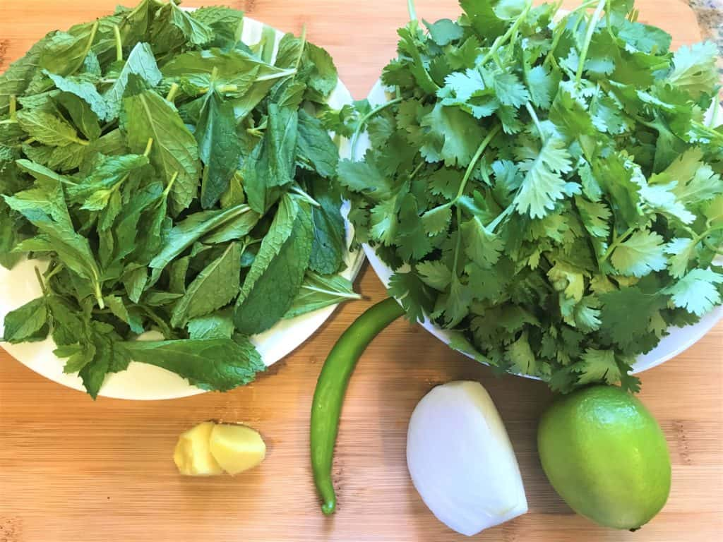 Mint Cilantro Green chutney