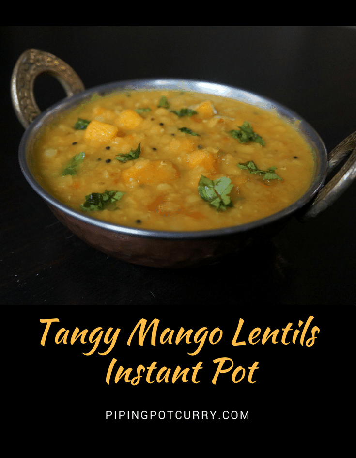 Mango Dal Instant Pot