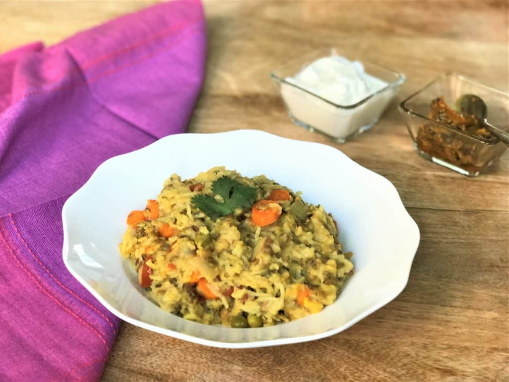 Masala Khichdi Instant Pot Pressure Cooker 2