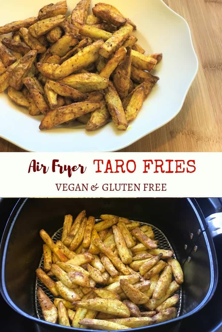 Air Fryer Taro Fries