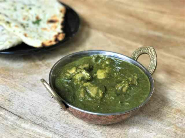 Chicken Saag Instant Pot Pressure Cooker