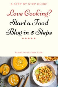 Seriously, do you love cooking? Why not share your love for cooking with the world and guess what....Make money while doing that! Here is a descriptive post about how to start a food blog in 5 steps.