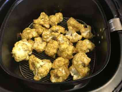 Air Fryer Tandoori Gobi Cauliflower Tikka