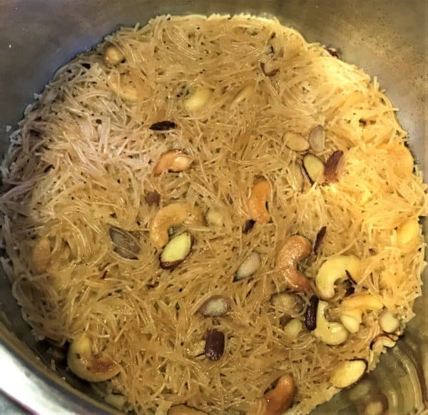 Sweet Seviyan Vermicelli Instant Pot