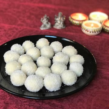 Coconut Almond Laddoo