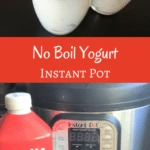 Instant Pot No Boil (cold start) Yogurt is thick, creamy, and delicious. Pressure cooker yogurt is fun to make and tastes so good!