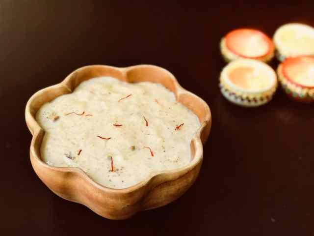 Kheer Rice Pudding instant pot
