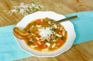 Minestrone Soup Instant Pot Pressure Cooker Main