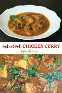 Mom's Chicken Curry Instant Pot
