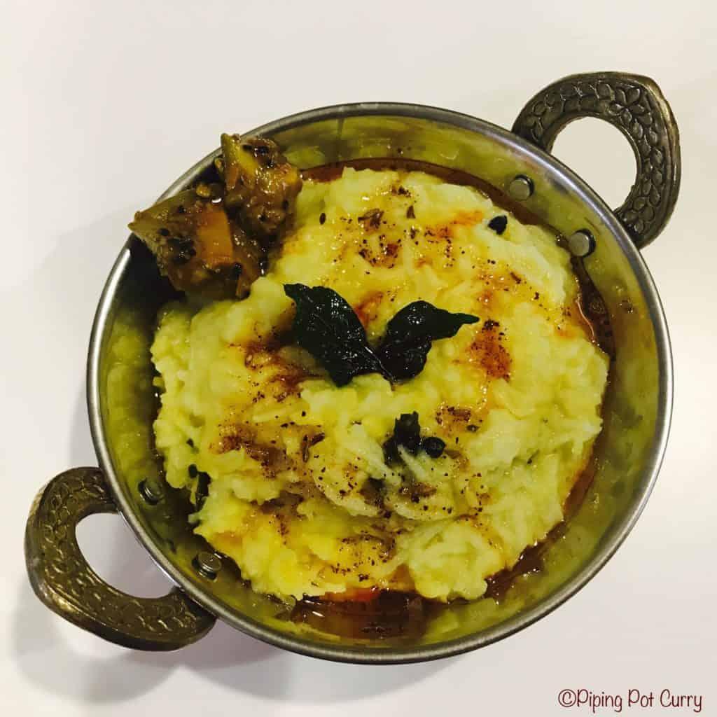 Moong Dal Khichdi Instant Pot Pressure Cooker