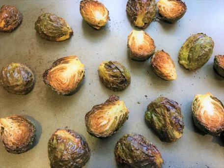 Brussels Sprouts Oven Baked