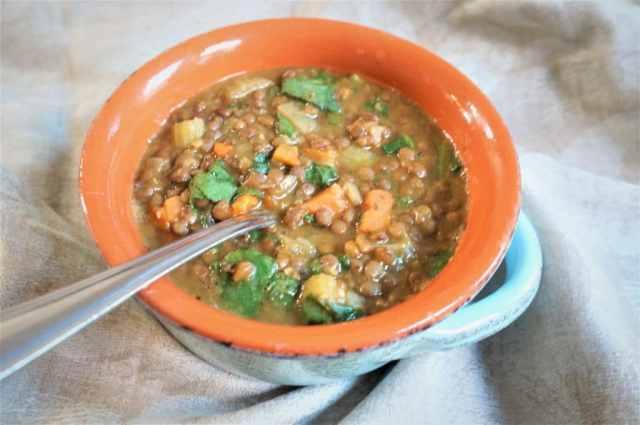 Lentil Soup Instant Pot Pressure Cooker 1